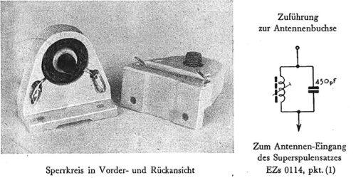 1951 - Prospekt Sperrkreis EZs 0116