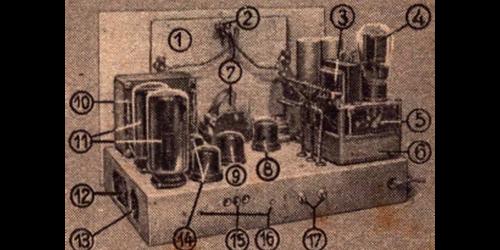 1947 - Schaltung Saalempfänger 3505