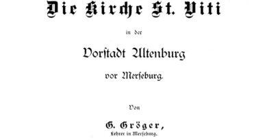 1913 - Die Kirche St. Viti in der Vorstadt Altenburg