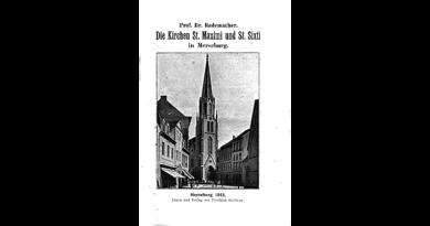 1913 - Die Kirchen St Maximi und St. Sixti