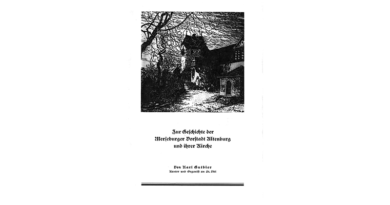 1938 - Zur Geschichte der Merseburger Vorstadt Altenburg und ihrer Kirche