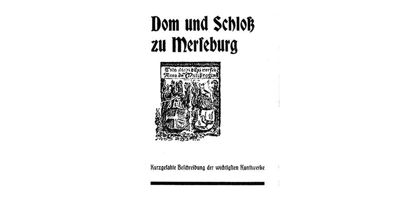 1951-Dom und Schloß zu Merseburg