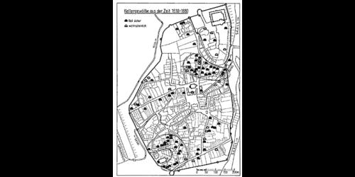 1977 - Kellergewölbe in Merseburg